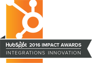 2016 HubSpot Integrations Award